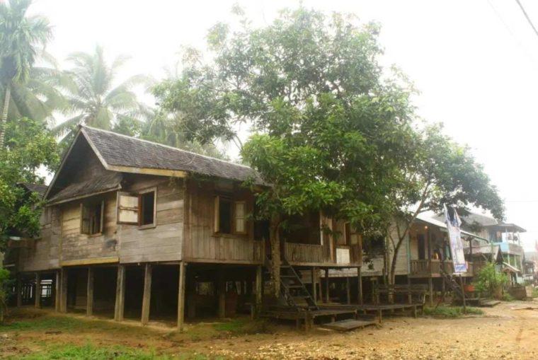 Rumah Adat Kalimantan Timur Suku Wehea