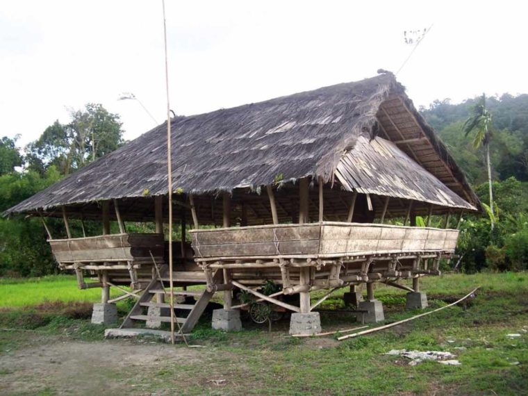 Rumah Adat Sulawesi Tengah Lobo