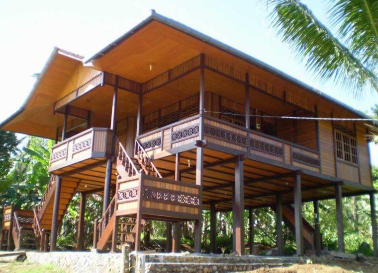 Rumah Adat Sulawesi Utara Walewangko