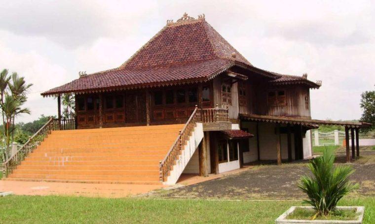 Struktur Rumah Adat Bubungan Lima