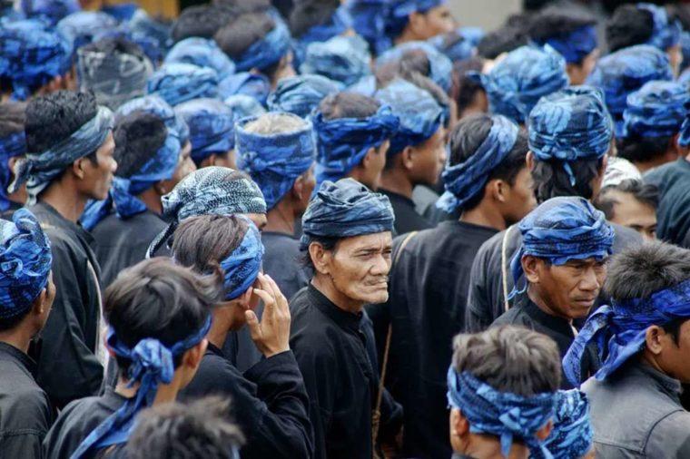 Pakaian Adat Banten Suku Baduy Luar