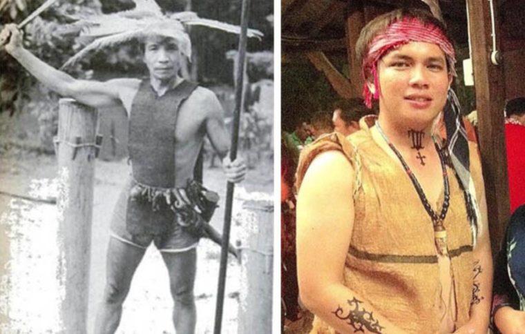 Pakaian Adat Kalimantan Tengah Upak Nyamu