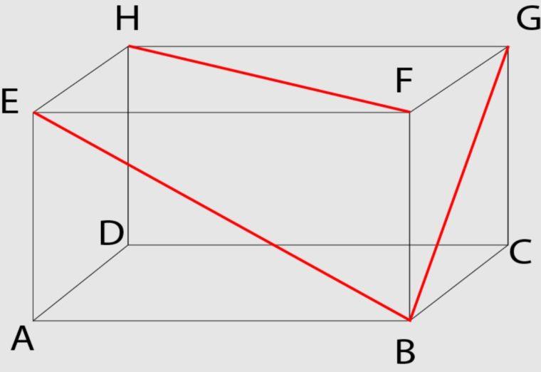 Rumus Diagonal Bidang Balok