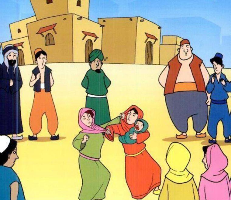 Contoh Teks Hikayat Abu Nawas dan Dua Orang Ibu