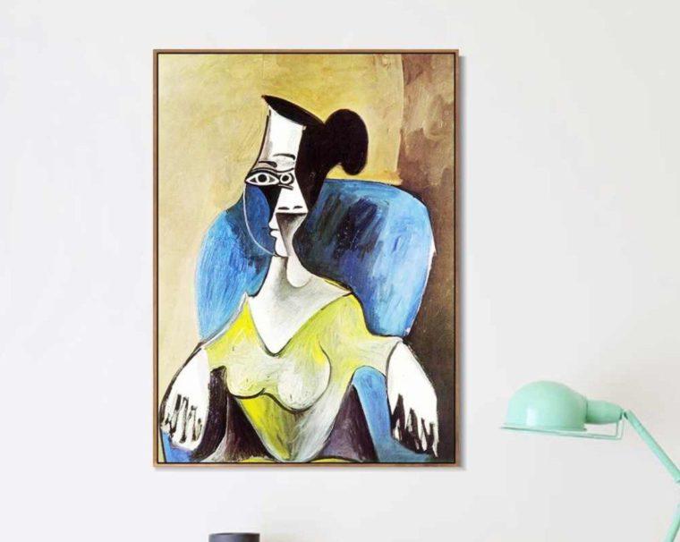 Lukisan Femme Assise