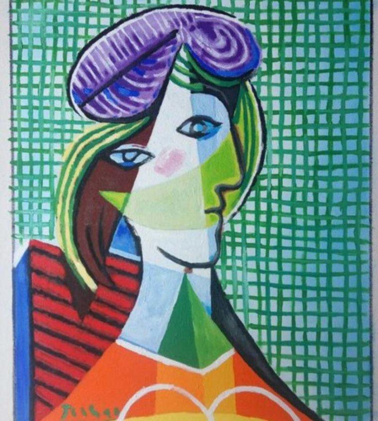 Lukisan Tete de Femme